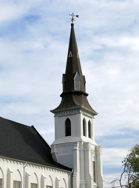 The steeple of Emanuel African Methodist Episcopal Church, Charleston, SC from Flickr via Wylio