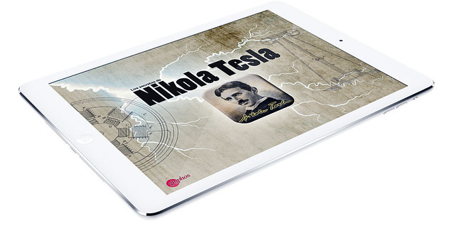 Nikola Tesla iPad app (January 2014)