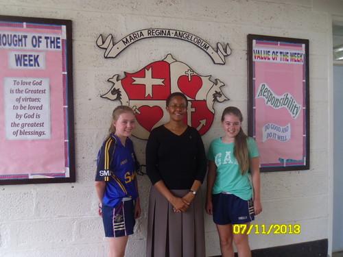 St Gertrude with Roisin & Fionnaulaugh