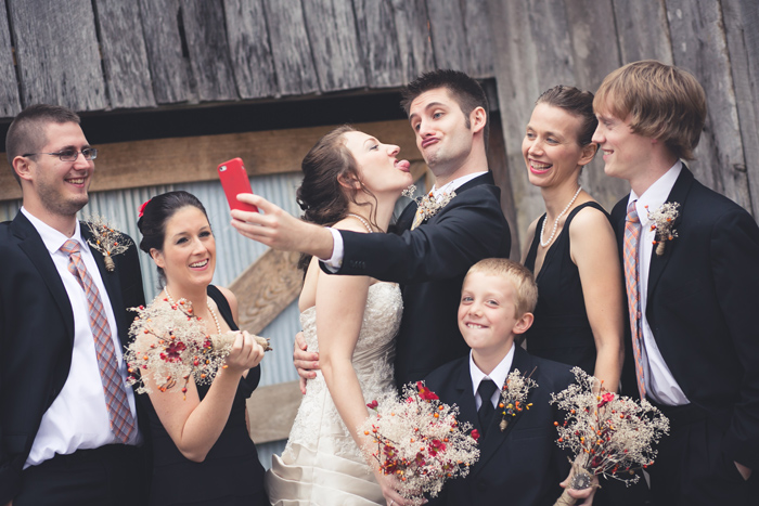 Bridal-Party-Selfie