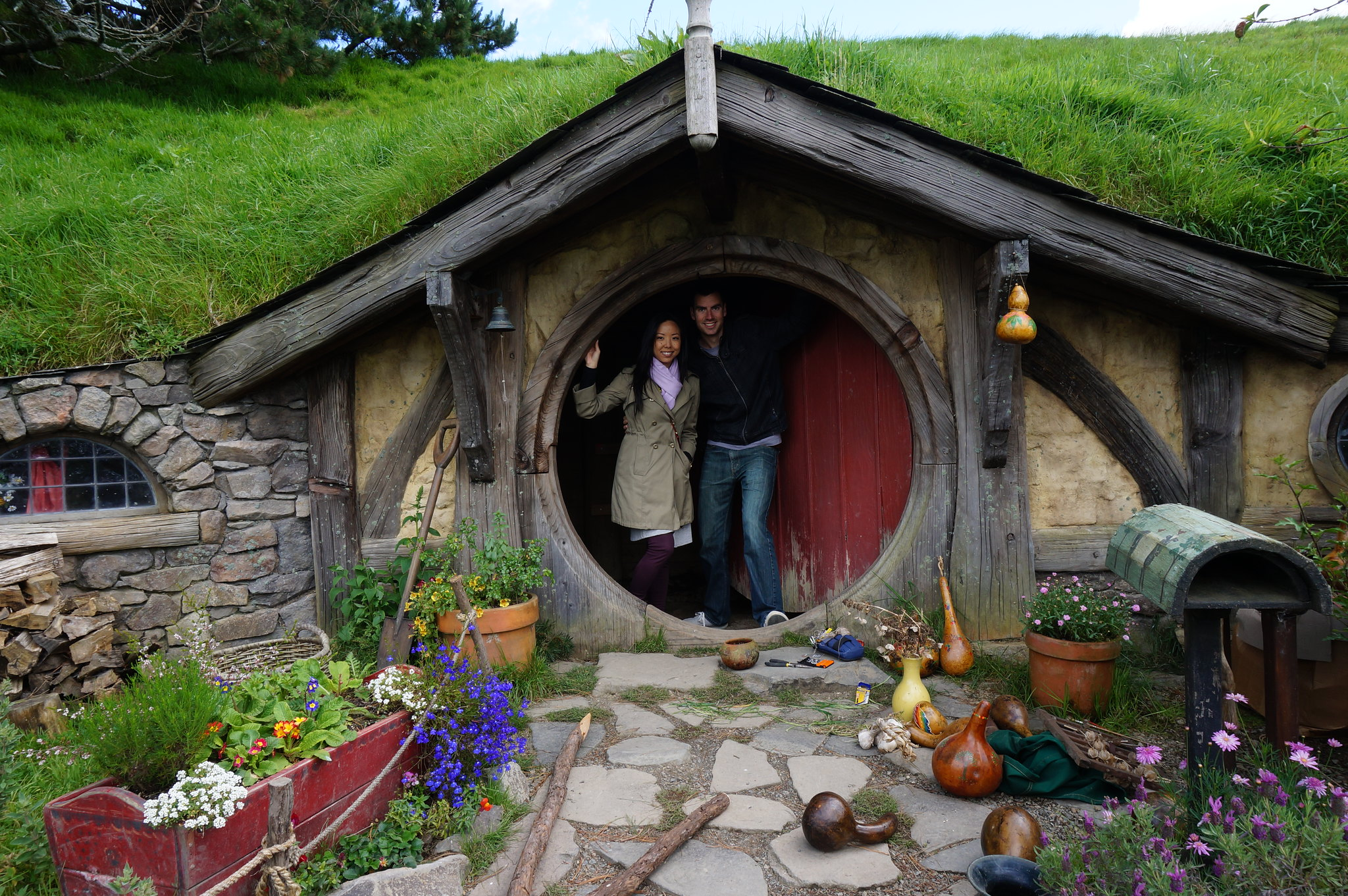 Inside A Hobbit House Flickr Photo Sharing