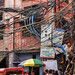 DSC04196 - Entangled Electric Wiring in Street (India) by loupiote (Old Skool) pro