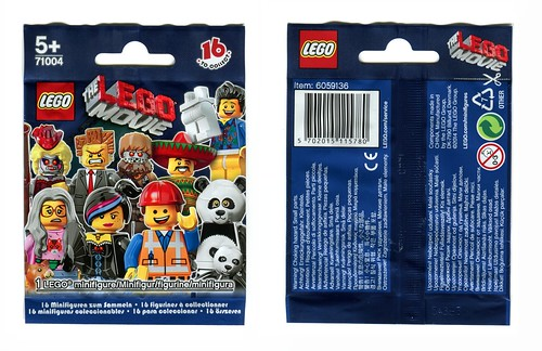 71004 LEGO Minifigures The LEGO Movie Series PACK
