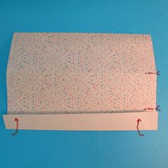 วิธีพับกระดาษเป็นผีเสื้อหางแฉก 012
