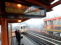 Staten Island Railway Countdown Clocks