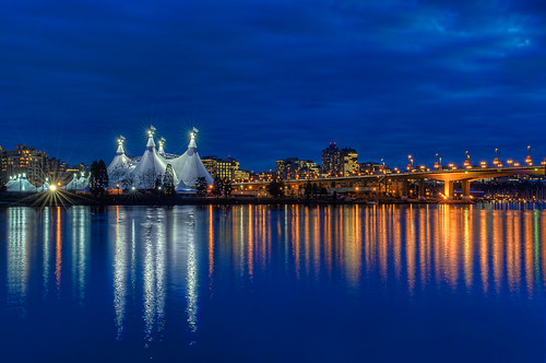Cavalia's Odysseo Resides Next to the Cambie Street Bridge in Vancouver