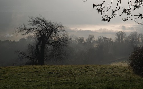 sunlight mist landscape bath earlymorning solsburyhill nikond800