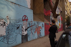 Jared at mural wall