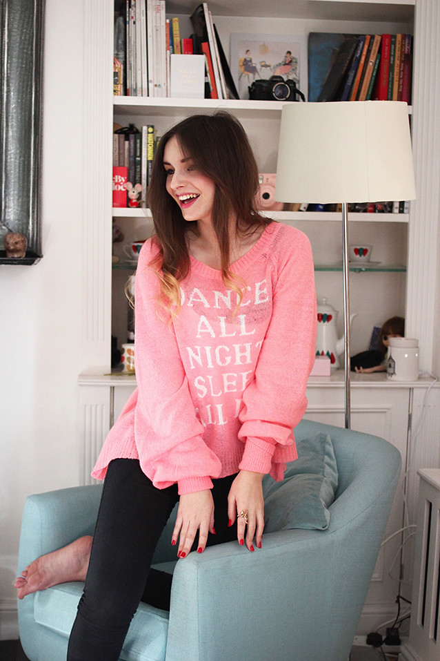 Wildfox Sleep All Day Jumper