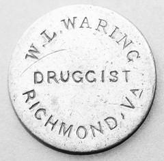 W.L. Waring obv