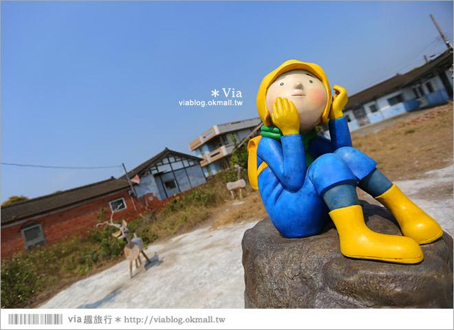 【台南後壁幾米】後壁土溝農村美術館‧農村就是美術館!幾米作品可愛現縱~35