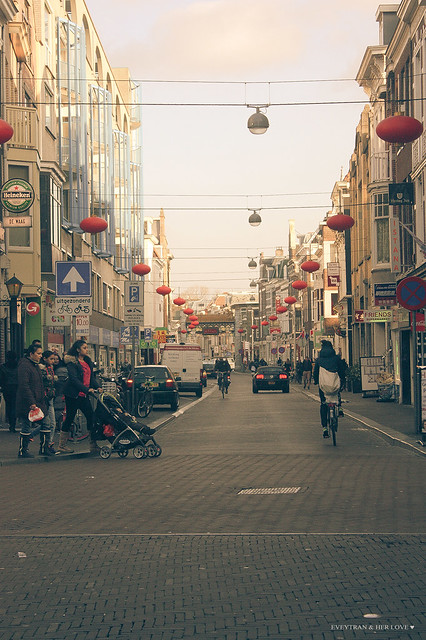 A corner of China Town (Den Haag)