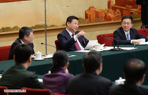 Chinese National People's Congress on March 6, 2014. The gathering is designed for policy purposes. by Pan-African News Wire File Photos