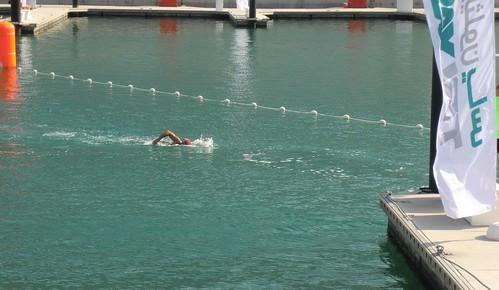 Talal swim exit