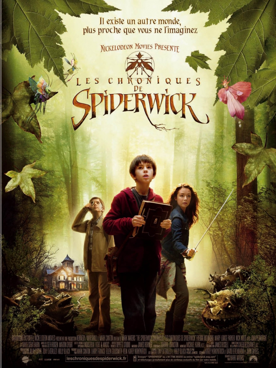 the spiderwick chronicles 2008 amazing movie posters. Black Bedroom Furniture Sets. Home Design Ideas
