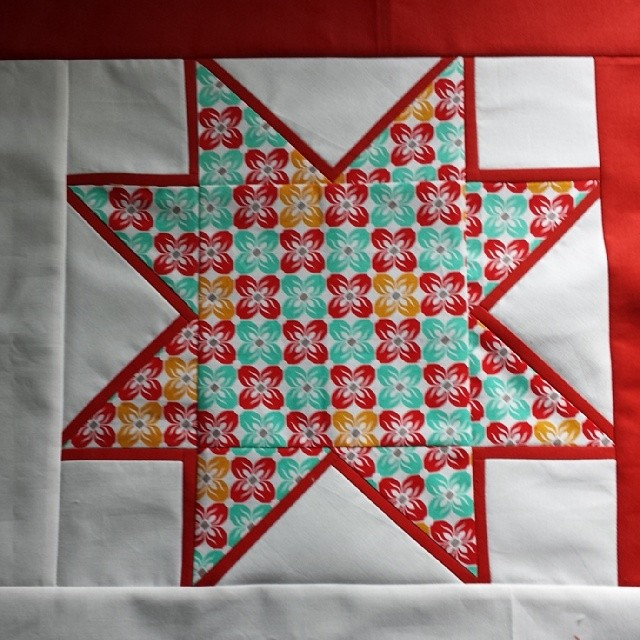 A Blooming Marvelous Star with tutorial on my blog