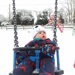 Swinging in the Snow