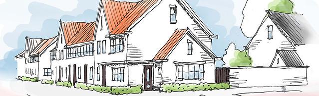 Kleinrijk nieuwbouw woningen rotterdam overschie for Nieuwbouw rotterdam huur