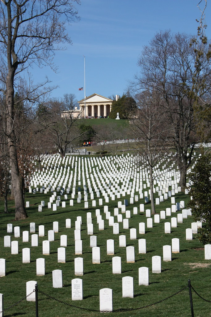Arlington House and cemetery