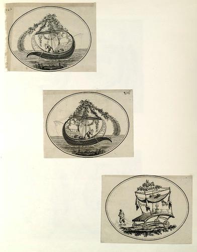 006-Barcas y carretillas chinas-Oeuvre gravé de Jean Pillement..1767-Vol 2- INHA
