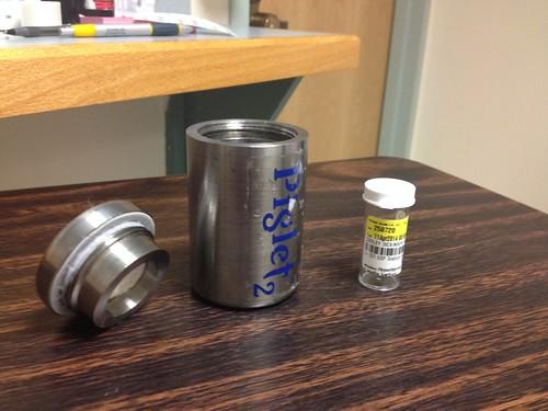 Radioactive Iodine - Lead Cup