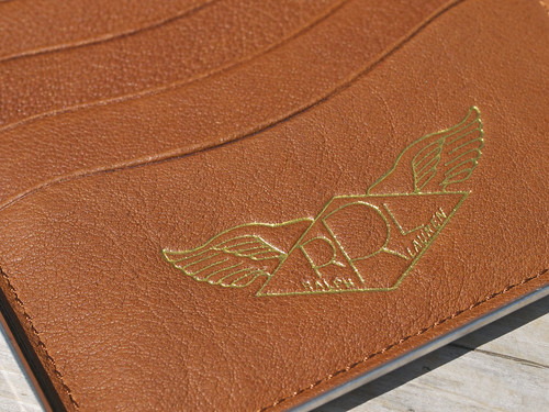 RRL / Metal Passport Case