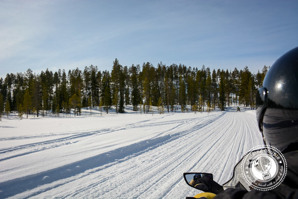 15 Ways Yllas, Finland Surprised and Enchanted Us - Snowmobiling in Ylass