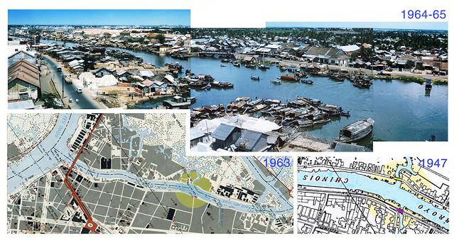 L'ARROYO CHINOIS - Ben Nghe Canal - Bến Chương Dương và Bến Vân Đồn