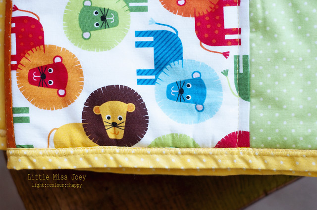 Happy baby quilt – Part one