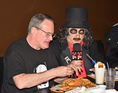 Svengoolie at Squared Circle with Jim Cornette