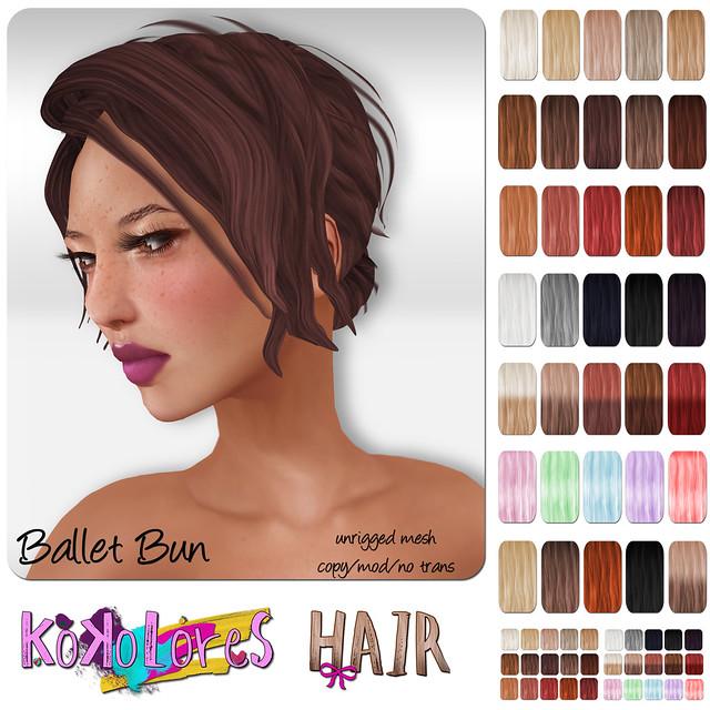 [KoKoLoReS] Hair - Ballet Bun