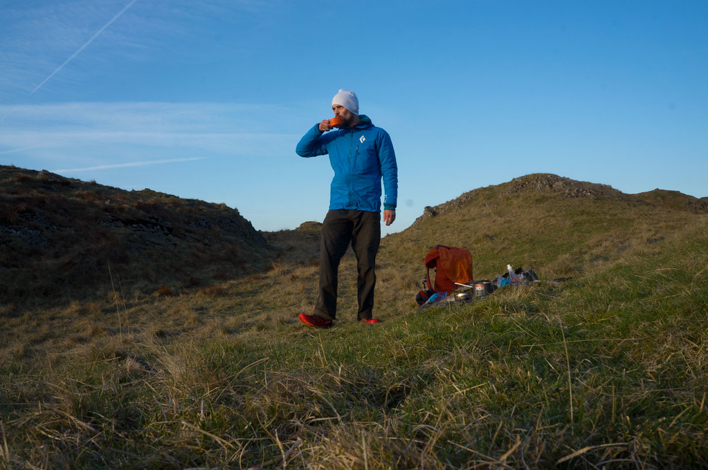 Breakfast on Sca Fell