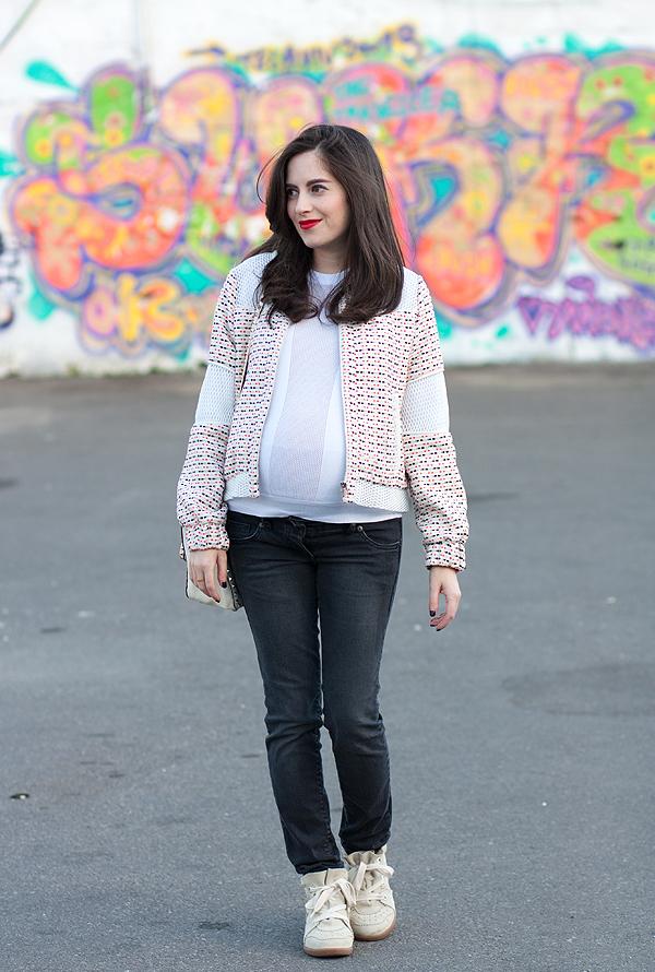 בלוג אופנה, הריון, בגדי הריון, אופנת הריון, ג'ינס הריון, אבישג ארבל, סנירקס איזבל מאראנט, maternity jeans, style the bump, pregnancy fashion, israeli fashion blogger, isabel marant sneakers
