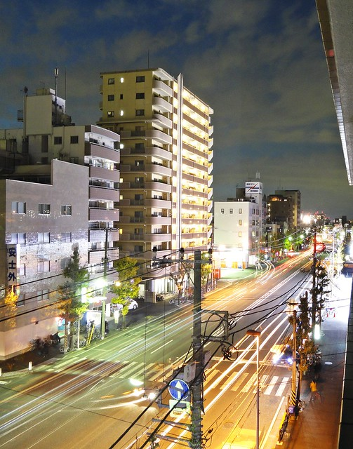 Shinkawa Dori evening