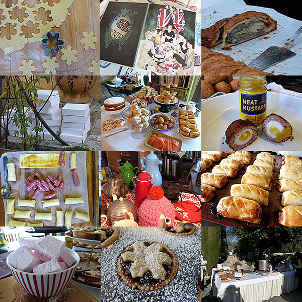 Mosaïque blog Fête de la truffe et high tea