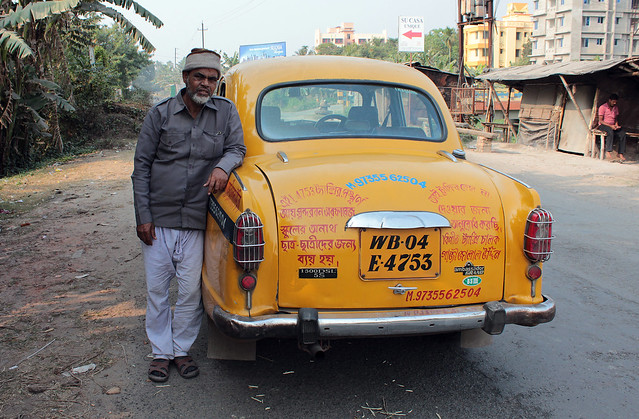 Jalaludin's Taxi where written appeal to donate to his School and Orphanage