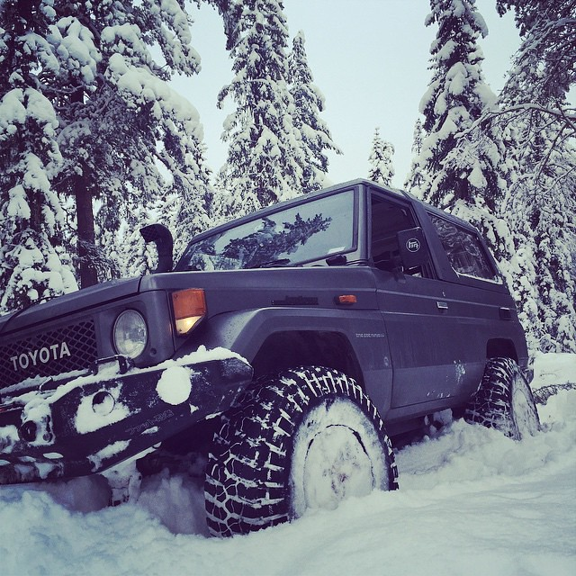 70cm snow ;-) happy #wolfroad
