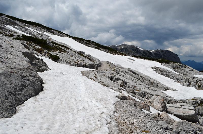 Snow on Krippenstein, Austria