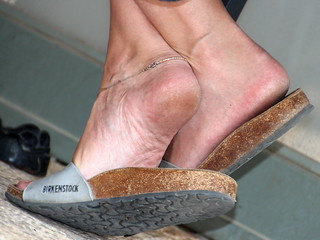 My mature MILF girlfriend extensive shoeplay - exposing her feet, heels and sexy rough and slightly dirty soles