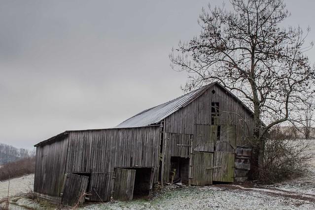 Kevin W. Jerrell - Lightly Powdered Barn