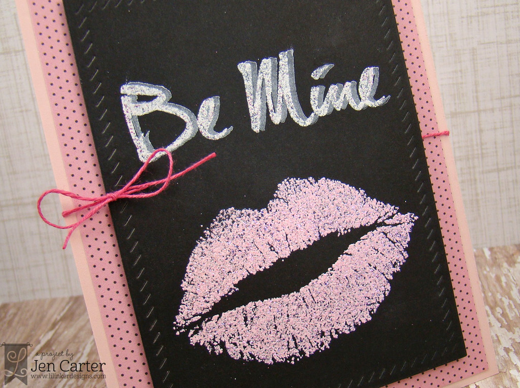 Jen Carter LID Be Mine Lips Closeup