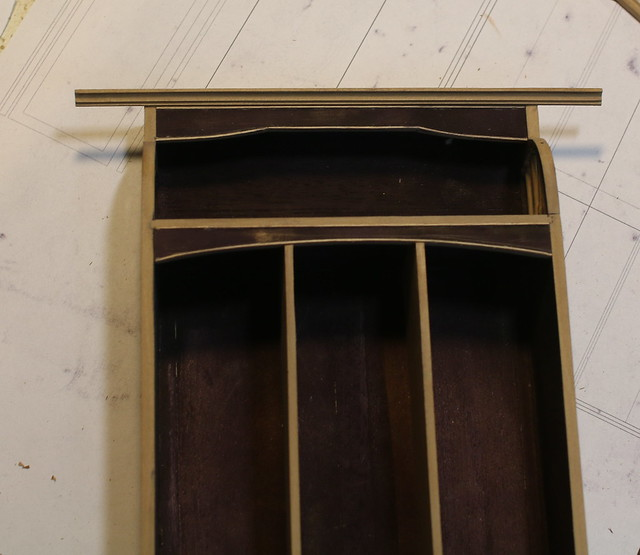 Art nouveau wardrobe - WIP