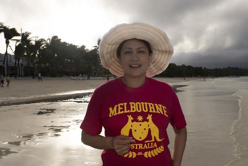ocean sea sky woman beach water lady clouds sunrise sand surf philippines boracay malay aklan coconutpalms boracayisland westernvisayas tamronsp2470mmf28divcusd nikond610