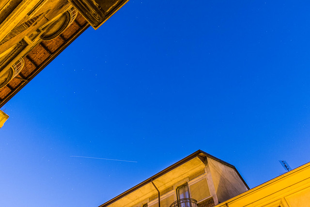 ISS Passage February 11th over Northern Italy.