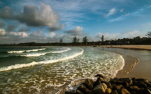 travelling beach indonesia pantai bintan riauislands kepri lagooi bintanlagooiresort