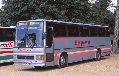 B889 AJX - Hargreaves Tours