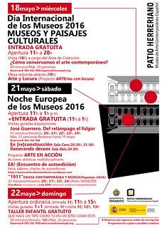 Noche de los Museos Patio Herreriano