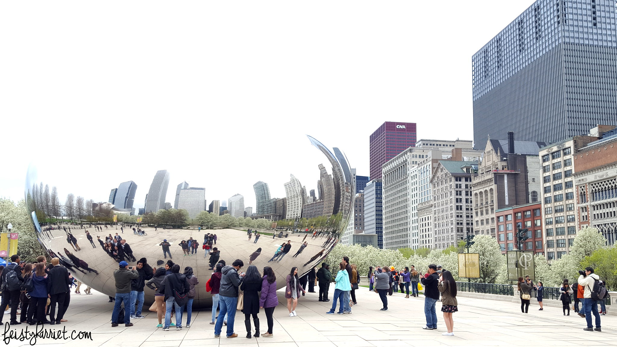 Chicago 7_Bean Cloudgate_feistyharriet_April 2016