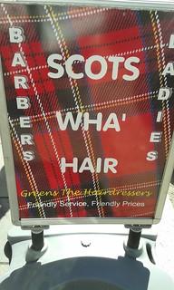 wha hair glesca merchant city