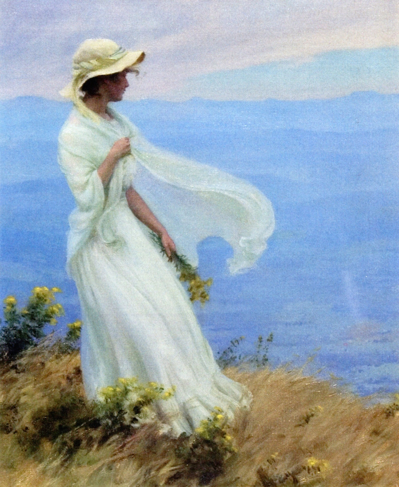September Afternoon by Charles Courtney Curran - 1913